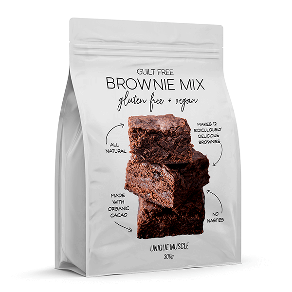Guilt Free Brownie Mix - Unique Muscle