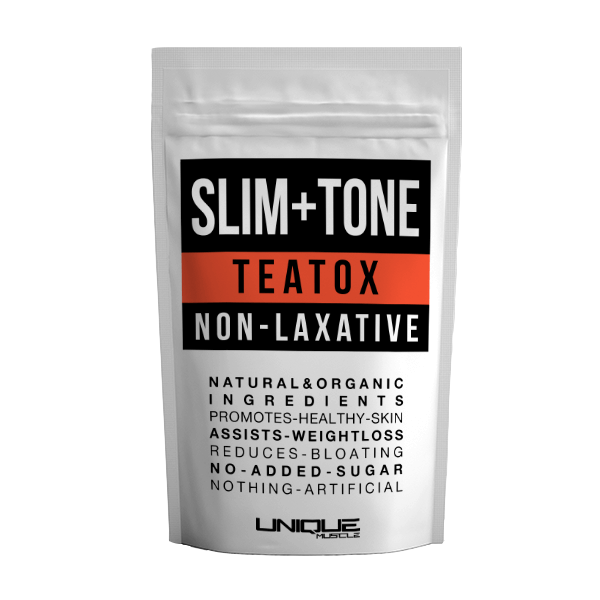 Slim + Tone Teatox - Natural Herbal Slimming Tea - Unique Muscle