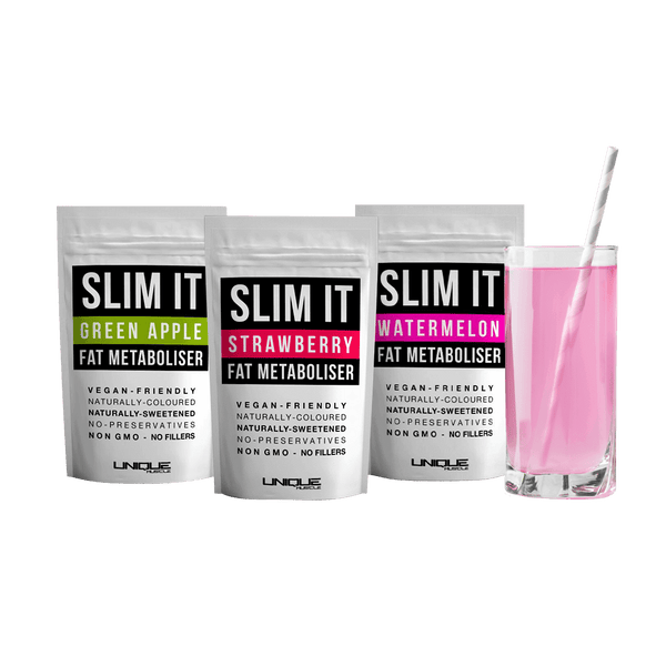 Slim It Fat Metaboliser Pack, 3 Delicious Flavours - Unique Muscle