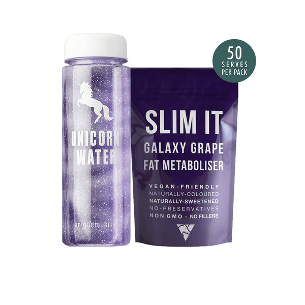 Unicorn-Water-Pack-Flavoured-Weight-Loss-Drink-Slim-It-Galaxy-Grape-Unique-Muscle
