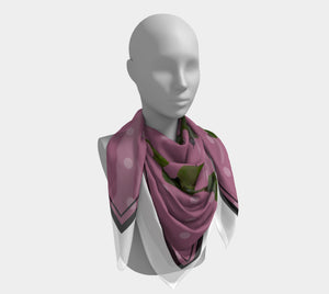 Giverny Square Scarf