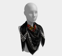 Load image into Gallery viewer, Père Lachaise Square Scarf