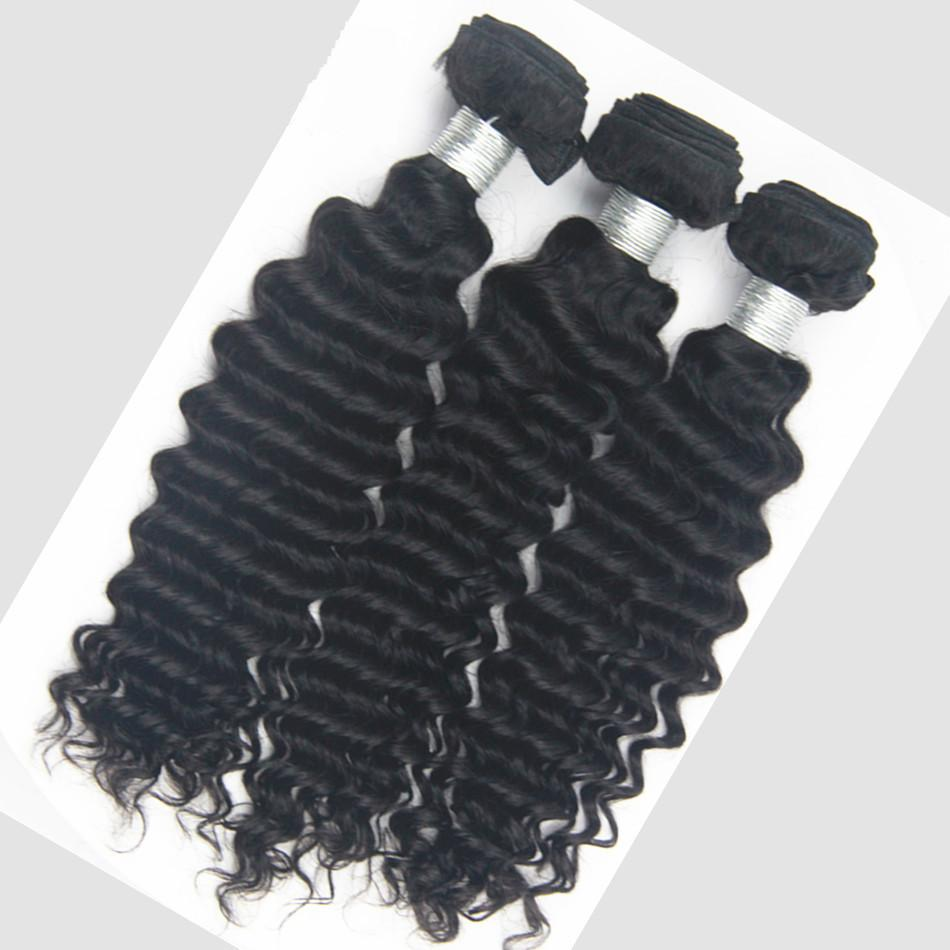 9A Deep Wave Human Hair Bundle - DelaFur Wholesale