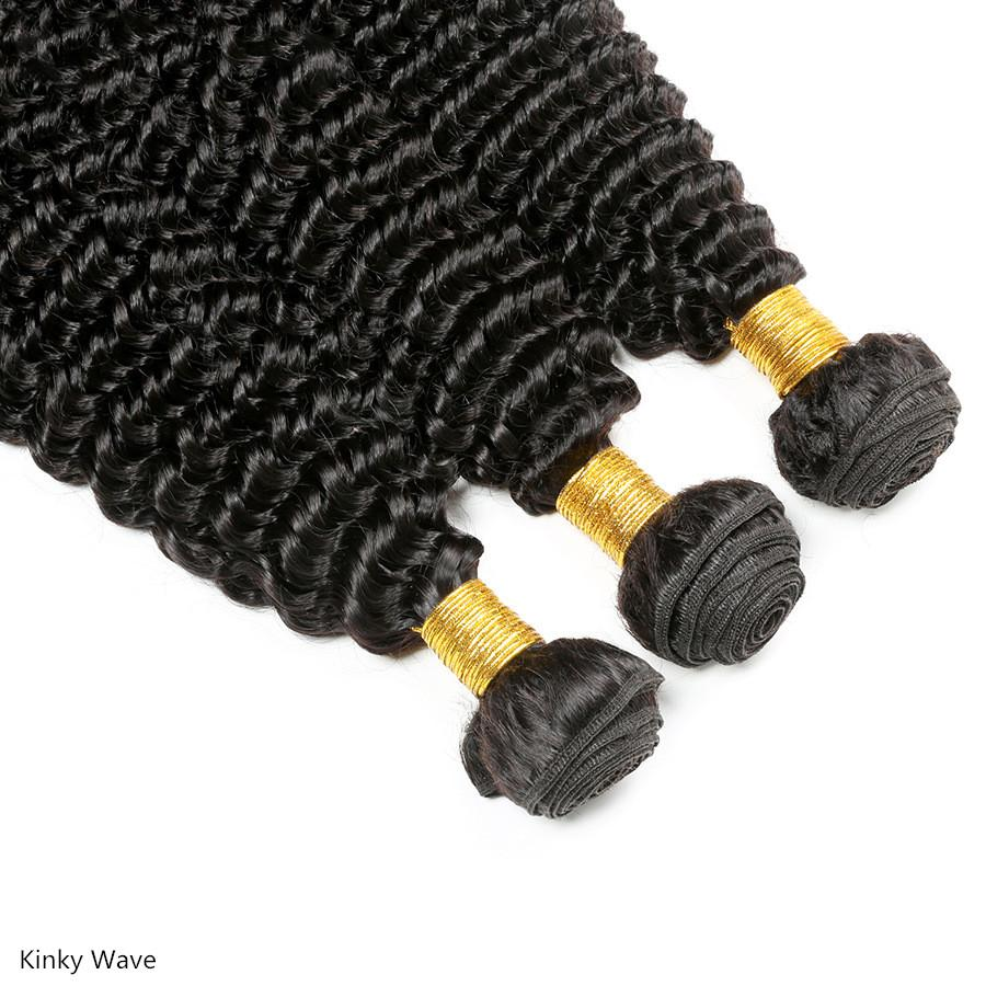 10A Kinky Curly Human Hair Bundle AH1949 - DelaFur Wholesale