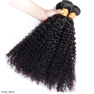 9A Kinky Curly Human Hair Bundle - DelaFur Wholesale