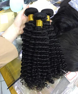 10A Deep Curly Human Hair Bundle - DelaFur Wholesale