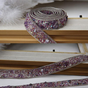 Purpler Handmade Diamond Belt, Fashion Belt - DelaFur Wholesale