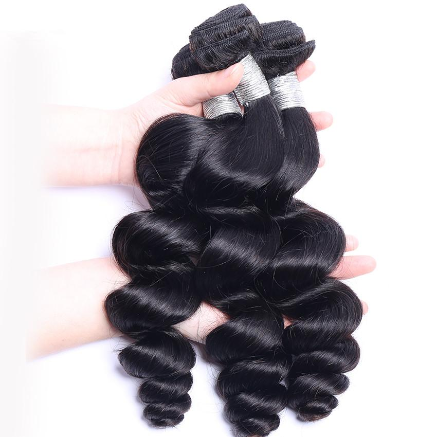 9A Loose Wave Human Hair Bundle - DelaFur Wholesale