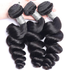 10A Loose Wave Human Hair Bundle AH1956 - DelaFur Wholesale