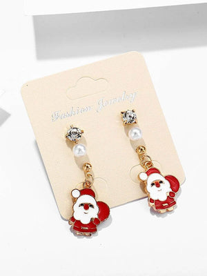 Christmas Santa Claus Earrings