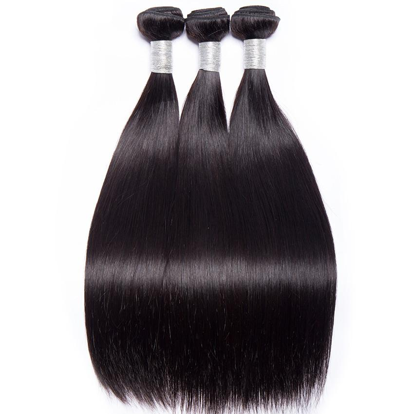 10A Straight Human Hair Bundle - DelaFur Wholesale