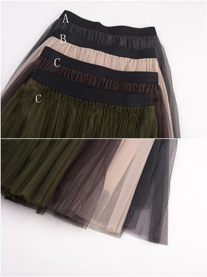 Fashion Girl Skirt AH258 - DelaFur Wholesale