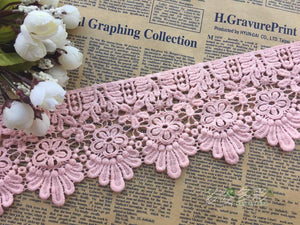 Diy Lace Fabric, Lace Applique - DelaFur Wholesale