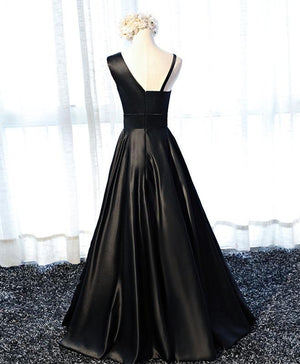 Stylish  Satin Long Prom Gown, Formal Dress