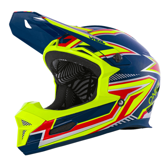 Casco DH O'neal Fury RL Rapid yellow