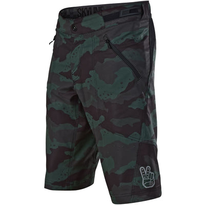Troy Lee Designs Shorts Skyline Shell camo green