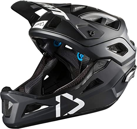 Casco modulare Leatt DBX 3.0 Enduro Black