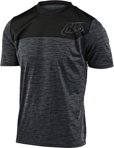 Troy Lee Designs Jersey Flowline Shield Heather black/black