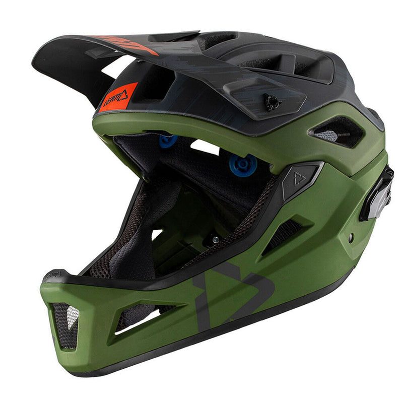 Casco modulare Leatt DBX 3.0 Enduro forest
