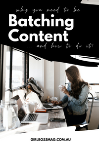 Batching Content: What It Is And Why You Need To Be Doing It