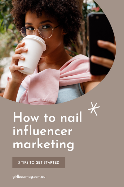 3 Tips For Working With Influencers