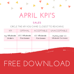 Free kpi template and workbook girl boss mag key performance indicators or kpis as they are most commonly known as are ways to measure success in business kpis are generally unique to each flashek Image collections