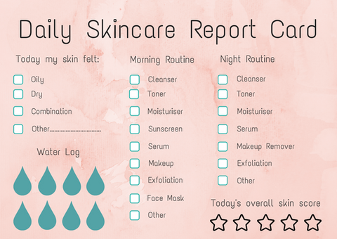 Girl Boss Skincare Report Card