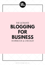 The Ultimate Business Blogging Guide