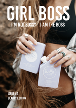 Front page of Girl Boss Mag 3
