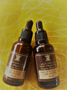 Pure Argan Oil 30ml dropper