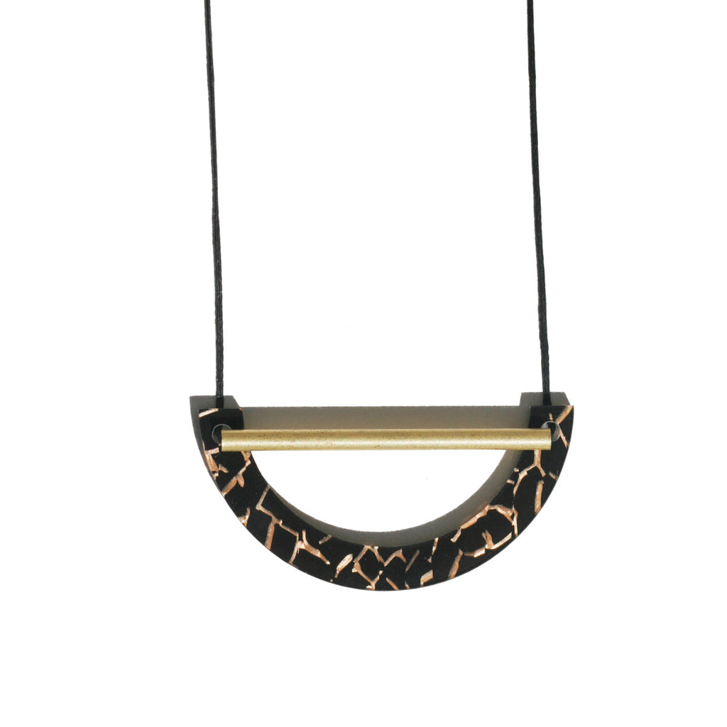 Beam Necklace - Tiger Black