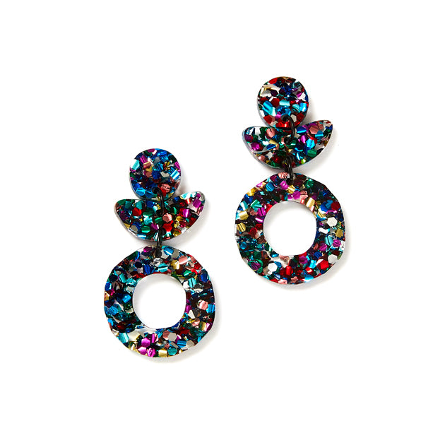 Dune Flower Earrings - Disco