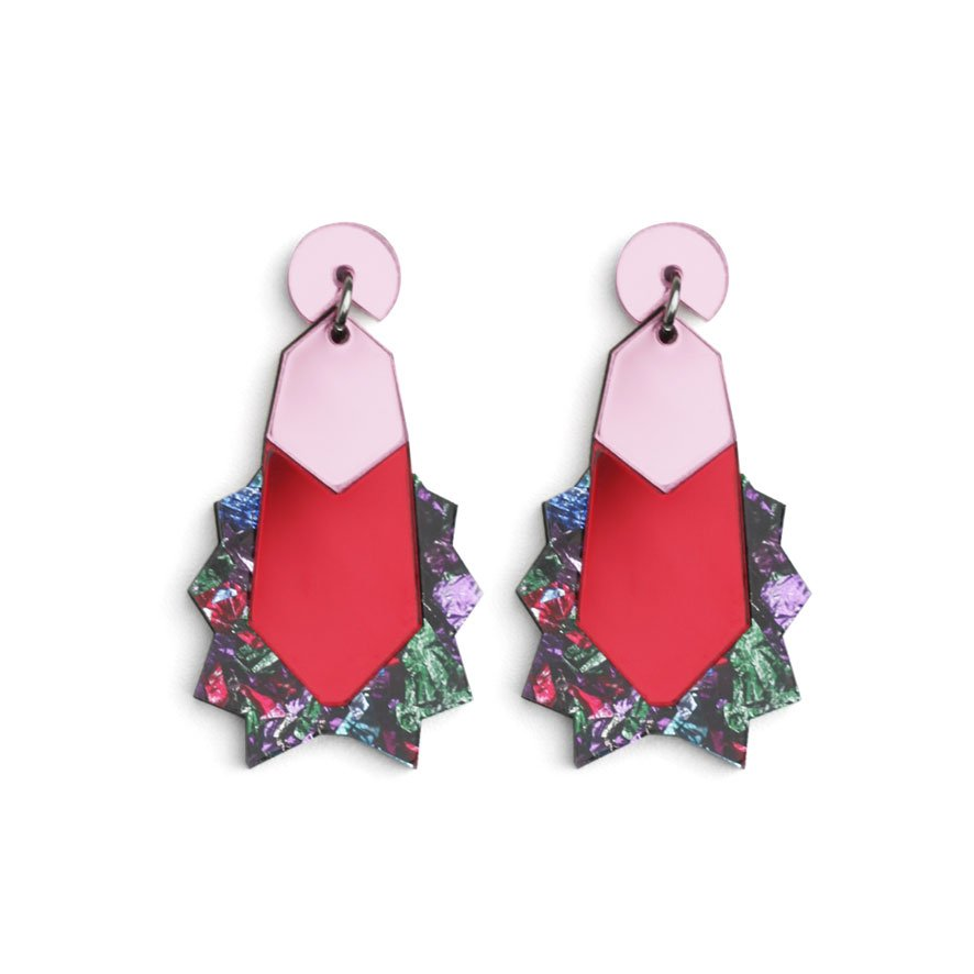 Kapow Earrings - Multi