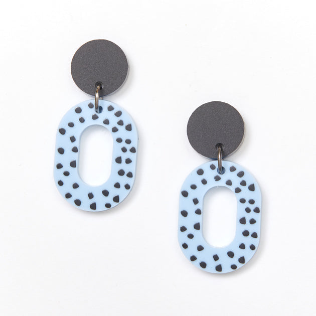 Picture Of Lucy Earrings - Blue