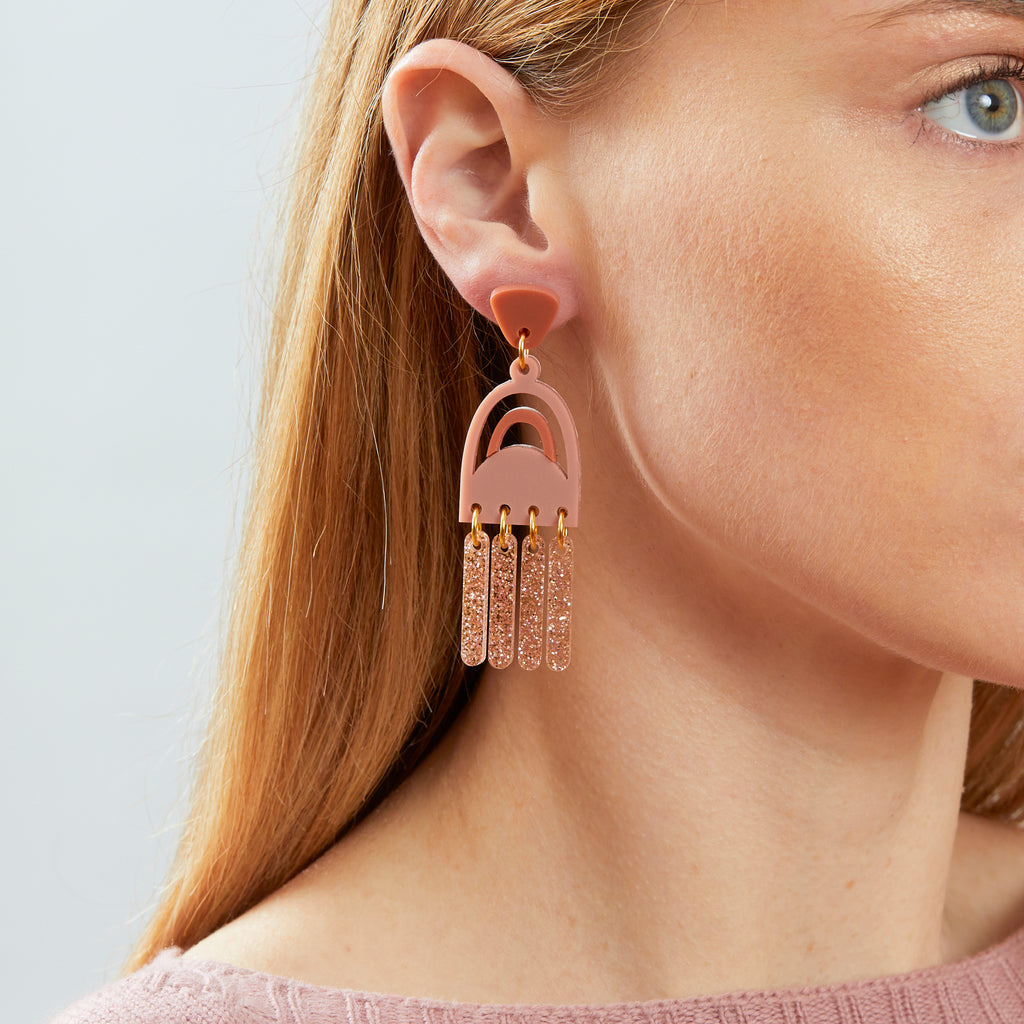Breeze Earrings - Blush