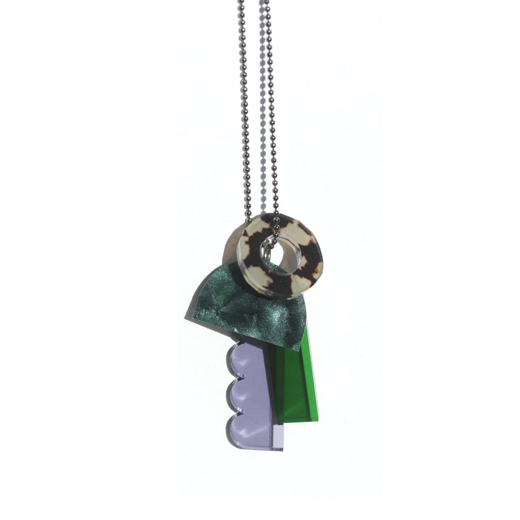 Wilderness Necklace - Green