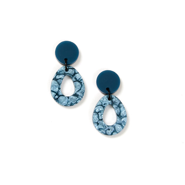 Tempest Earrings - Storm / Grey