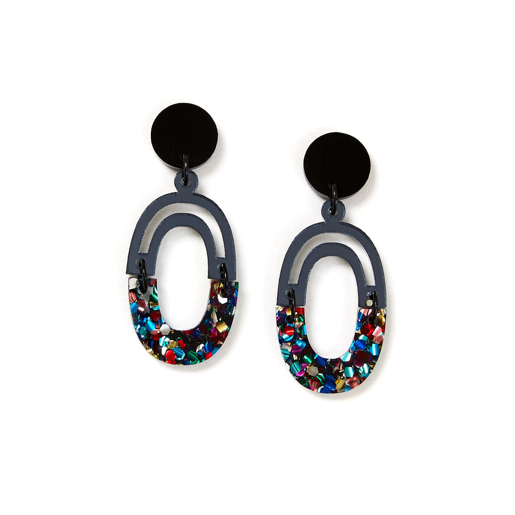 Link Earrings - Disco