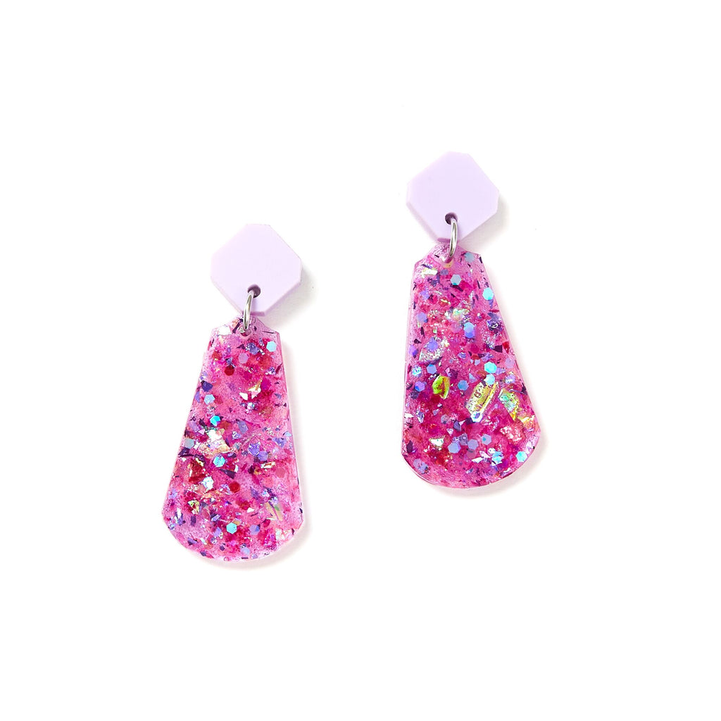 Tal Earrings - Mauve
