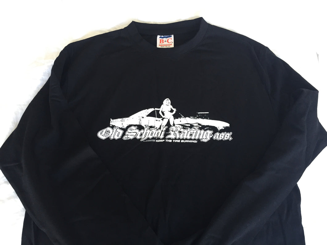 "Old School Racing Ass. ""Car-Girl"" Longsleeve Shirt"