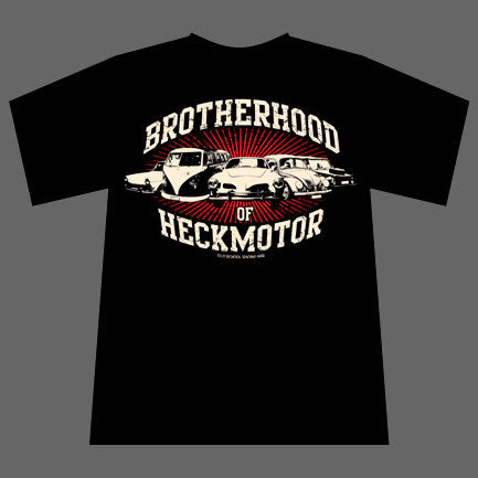 Brotherhood of Heckmotor T-Shirt schwarz