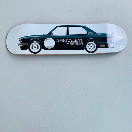 Skateboard Deck popsickle 8.0 BMW von Ambivalent Berlin