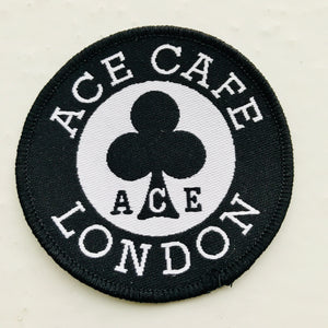 Classic Ace Café London Round Logo patch
