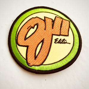 Vintage OJII wheels skateboarding patch