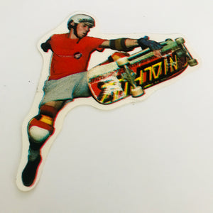 Vintage Santa Cruz Skateboard Footplant sticker