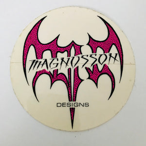 Vintage skateboard Tony Magnusson sticker