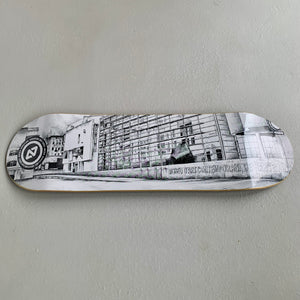"Skateboard Deck 9.0 inch ""Museu d'Art Contemporani"" Barcelona"