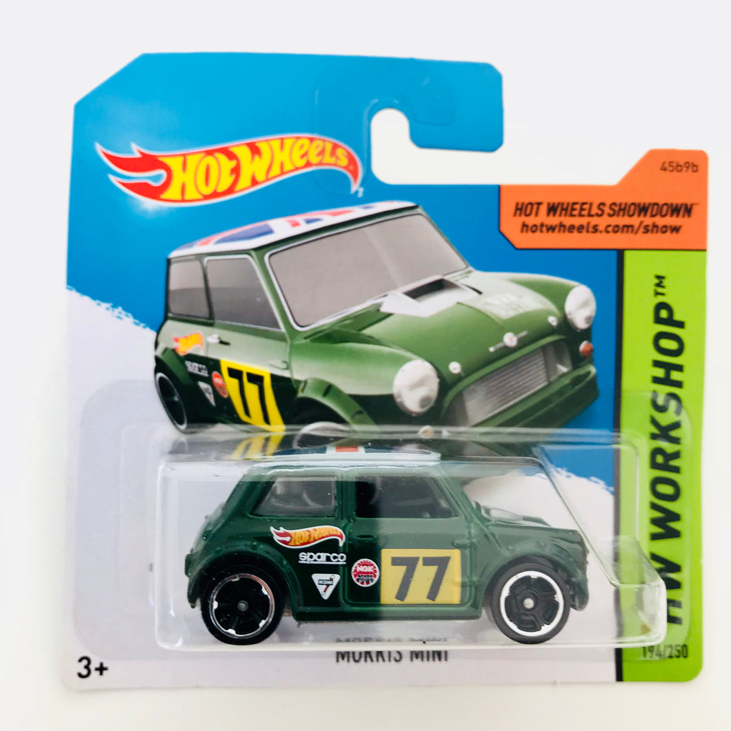 Hot Wheels 2014 Morris Mini Racing Green