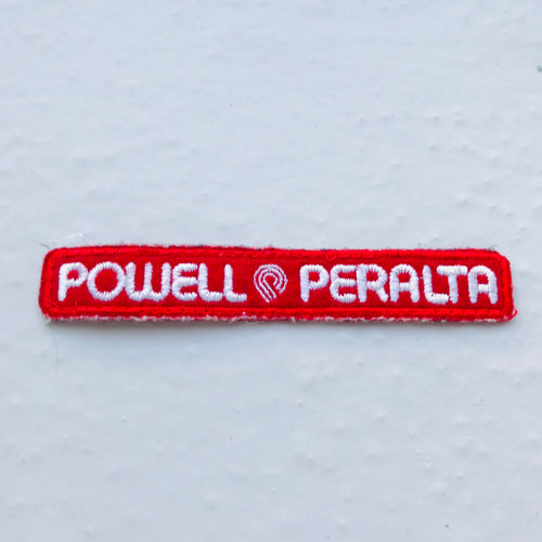 Vintage Powell Peralta skateboarding patch 80s