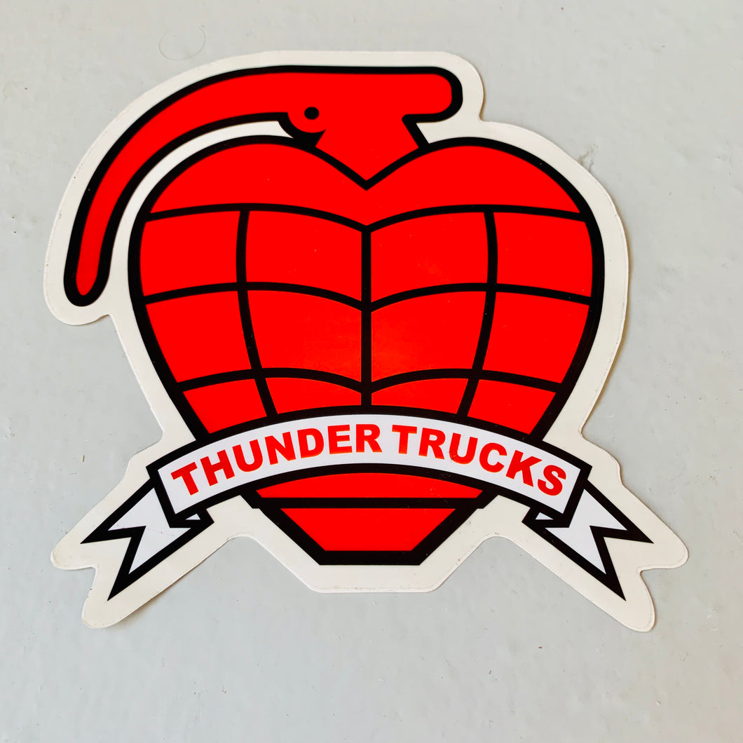 Vintage skateboard Thunder Trucks big Logo sticker
